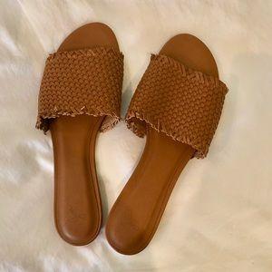 JOIE fadey slide sandals